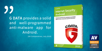AV-Comparatives: Perfect test result for G DATA Internet Security Android