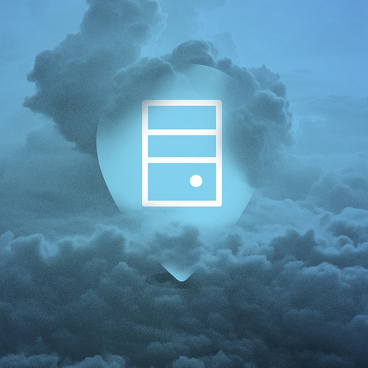 [Translate to English UK:] Data storage in the Cloud