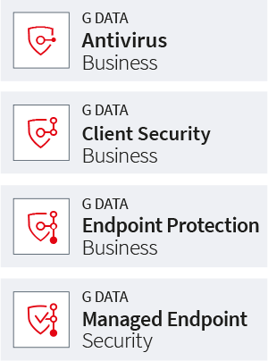 IT security for companies from G DATA